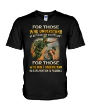 No Explanation V-Neck T-Shirt thumbnail