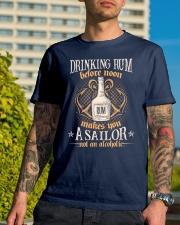 Drink Rum Classic T-Shirt lifestyle-mens-crewneck-front-8