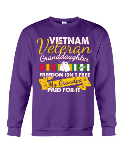 Vietnam Veteran Granddaughter-Freedom