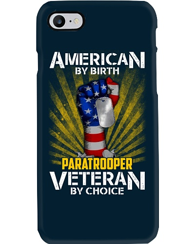Paratrooper Veteran By Choice