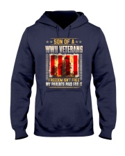 WWII Veterans Son Hooded Sweatshirt thumbnail