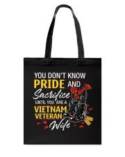 Pride and Sacrifice Tote Bag thumbnail
