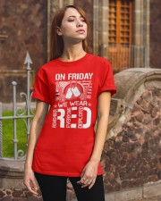 Wear RED Front Classic T-Shirt apparel-classic-tshirt-lifestyle-06