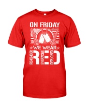 Wear RED Front Classic T-Shirt front