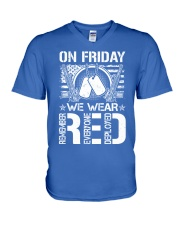 Wear RED Front V-Neck T-Shirt thumbnail
