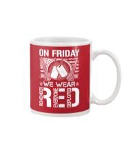 Wear RED Front Mug thumbnail