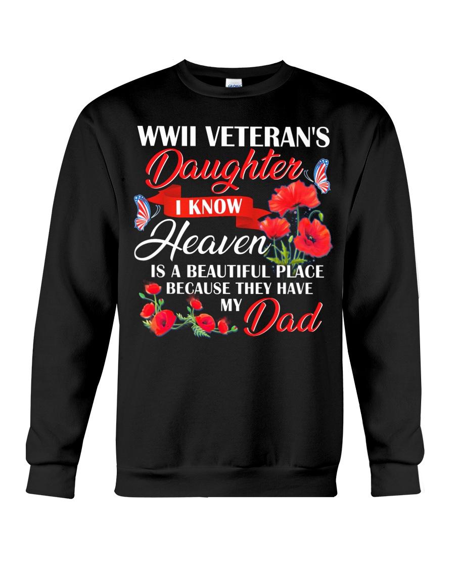 Heaven Is Beautiful-WW2 Daughter Crewneck Sweatshirt