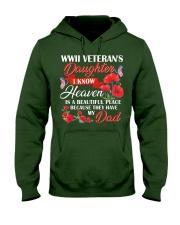 Heaven Is Beautiful-WW2 Daughter Hooded Sweatshirt thumbnail