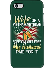 Wife Of A Vietnam Veteran Phone Case thumbnail