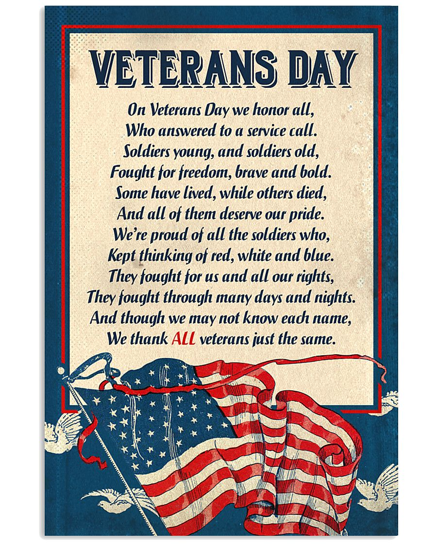 Veterans Day 11x17 Poster