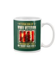 Veteran Son Of A WWII Veteran Mug thumbnail