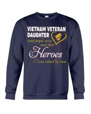 Vietnam Veteran Daughter Crewneck Sweatshirt thumbnail