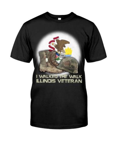I Walked The Walk Illinois Veteran
