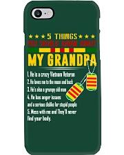 Vietnam Veteran Grandchildren-5things Phone Case thumbnail