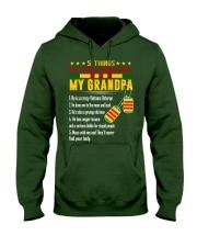 Vietnam Veteran Grandchildren-5things Hooded Sweatshirt thumbnail