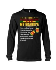 Vietnam Veteran Grandchildren-5things Long Sleeve Tee thumbnail