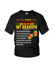 Vietnam Veteran Grandchildren-5things Youth T-Shirt thumbnail