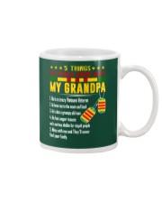 Vietnam Veteran Grandchildren-5things Mug thumbnail