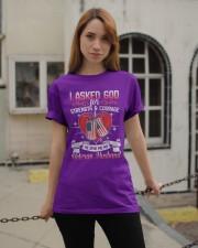 Asked God Classic T-Shirt apparel-classic-tshirt-lifestyle-19