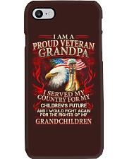 Proud Veteran Grandpa Phone Case thumbnail
