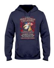 Proud Veteran Grandpa Hooded Sweatshirt thumbnail