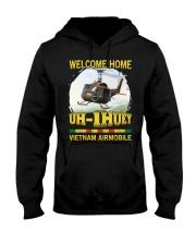 Vietnam Airmobile Hooded Sweatshirt front