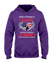 Picked My Daddy Hooded Sweatshirt front