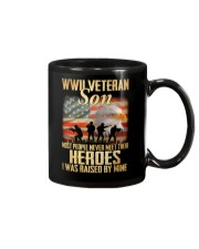 WWII Veteran Son Mug tile
