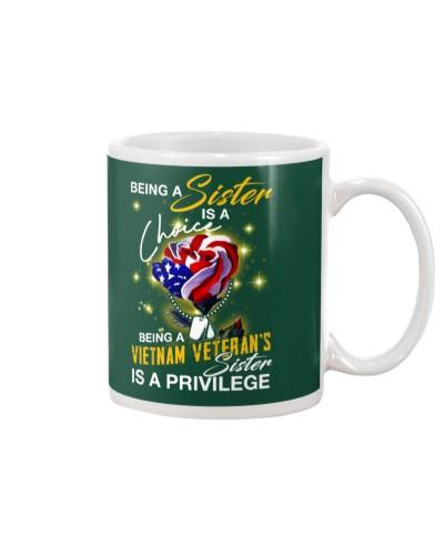 Vietnam Veteran's Sister Privilege