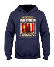 WWII Veteran Great-Grandson Hooded Sweatshirt thumbnail