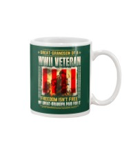 WWII Veteran Great-Grandson Mug thumbnail