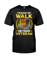 Walked The Walk Classic T-Shirt thumbnail