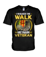 Walked The Walk V-Neck T-Shirt thumbnail