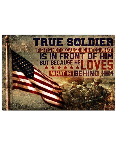 True Soldier Fights