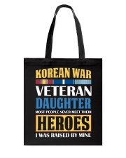 Korean War Veteran Daughter Tote Bag thumbnail
