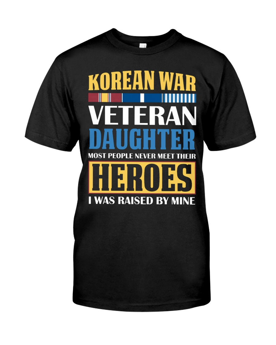 Korean War Veteran Daughter Classic T-Shirt