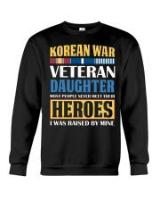 Korean War Veteran Daughter Crewneck Sweatshirt thumbnail