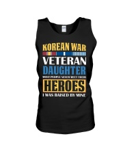 Korean War Veteran Daughter Unisex Tank thumbnail