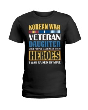 Korean War Veteran Daughter Ladies T-Shirt thumbnail