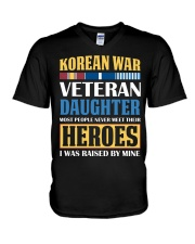Korean War Veteran Daughter V-Neck T-Shirt thumbnail