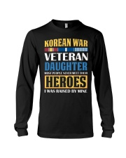 Korean War Veteran Daughter Long Sleeve Tee thumbnail