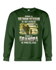 Being A Vietnam Veteran Grandpa Is Priceless Crewneck Sweatshirt thumbnail
