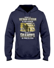Being A Vietnam Veteran Grandpa Is Priceless Hooded Sweatshirt front