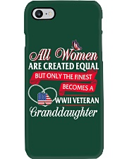 Finest Becomes WWII Veteran's Granddaughter Phone Case thumbnail