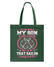 That Sailor Is My World Tote Bag thumbnail