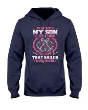 That Sailor Is My World Hooded Sweatshirt thumbnail