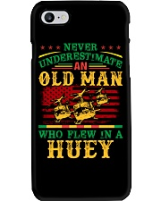 Old Man Flew In A Huey  Phone Case thumbnail