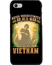 Old Man Served In Vietnam Phone Case thumbnail