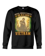 Old Man Served In Vietnam Crewneck Sweatshirt thumbnail