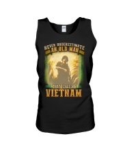 Old Man Served In Vietnam Unisex Tank thumbnail